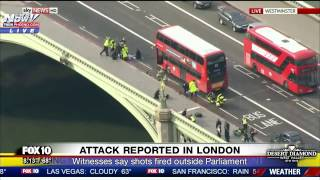 FNN: Deadly TERROR Attack in London - People Struck on Westminster Bridge - FULL COVERAGE