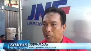 JNE TANGGAPI KELUHAN PELANGGAN  KOMPAS NEWS ACEH 13/01/2016