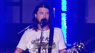 Foo Fighters Live In Brighton On BBC ONE 2007
