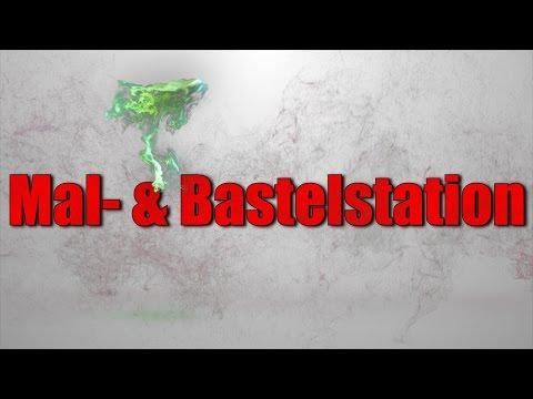 Mal- und Bastelstation