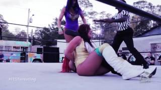 [FULL MATCH] Santana Garrett & Raquel vs. Kawaii Killers FEST WRESTLING: Pickle In The Tree