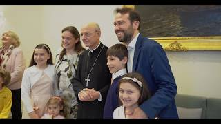Video: Pastoral Trip of Monsignor Ocáriz  to Naples