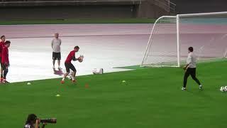 新生サッカー日本代表始動、早くもゴールキーパーの競争が始まる