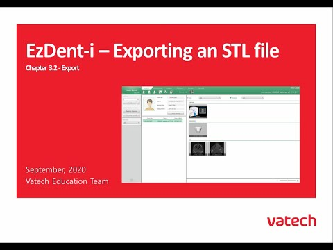 Exporting an STL file