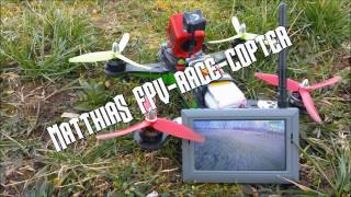 Matthias FPV-Race-Drones: Vortex 250 Pro 1st Flights 1st Gates switched up to Acromode