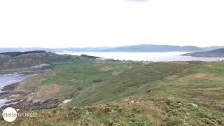 Rundumblick an der Küste Richtung Camelle
