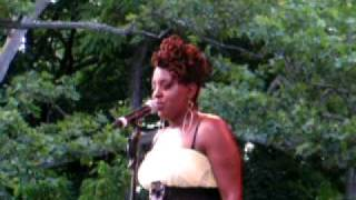 Ledisi, In The Morning, Summerstage, NYC 6-28-09