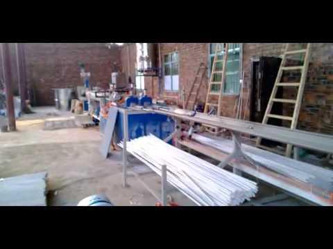 Maquina (extrusor) para fabricar tubos de plasticos PVC