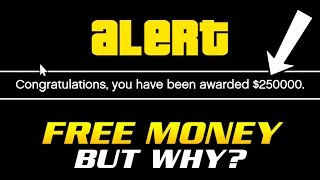 ROCKSTAR GIVING FREE MONEY TO PLAYERS BUT NO ONE KNOWS WHY