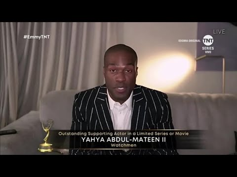 Yahya Abdul-Mateen II / Supporting Actor in a limited series or movie / Emmy Awards 2020
