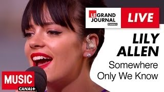 Lily Allen - Somewhere Only We Know (Live) (Cover)