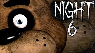 Five Nights At Freddy's   Night 6 Complete   CRAZIEST ENDING
