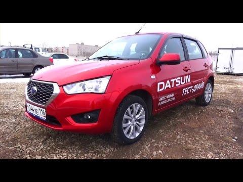 2015 Datsun mi-DO Dream. Обзор (интерьер, экстерьер, двигатель).