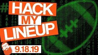 Fantasy Football Week 3 #HackMyLineup (2019)