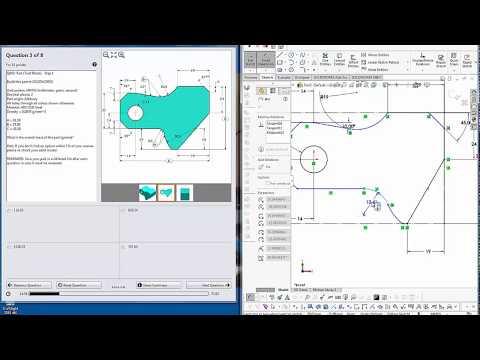 SolidWorks CSWA practice exam - YouTube