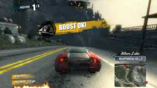 preview picture of video 'Burnout paradise Ultimate box on 7600gs'