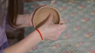 Quick Work.  Ceramic Bowl Modeling
