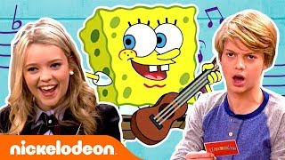 SpongeBob SquarePants Cover Songs 🎵 Campfire Song + Ripped Pants | #MusicMonday