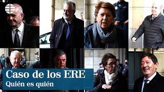 Quién es quién en la sentencia de los ERE: 19 condenados y 2 absueltos