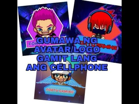 HOWNTO MAKE AVATAR AND LOGO USING CELLPHONE