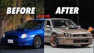 6-Speed Swapped WRX Crazy Transformation! *Emotional*