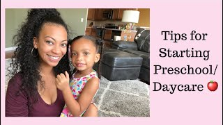 Starting Pre School or Daycare Soon? Transition Tips for Mommy & Toddler💛