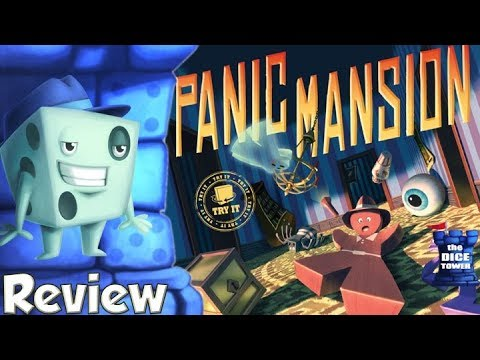 Panic Mansion Review - with Tom Vasel