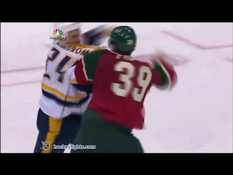 Eric Nystrom vs Nate Prosser