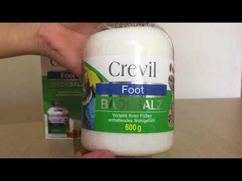 Muối khoáng ngâm chân crevil