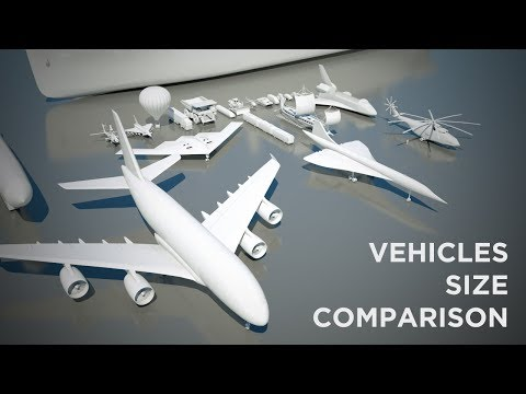 Vehicles Size Comparison