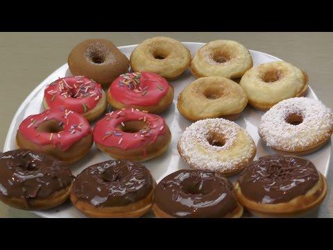 Grundrezept: Donuts aus dem Donutmaker - NinNin