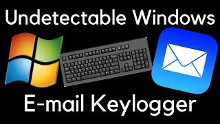 Undetectable Email Keylogger Tutorial + Crack