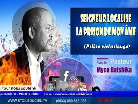 """Pasteur Myco BATSHIKA dans """"Seigneur localise moi"""". La Prière victorieuse"""