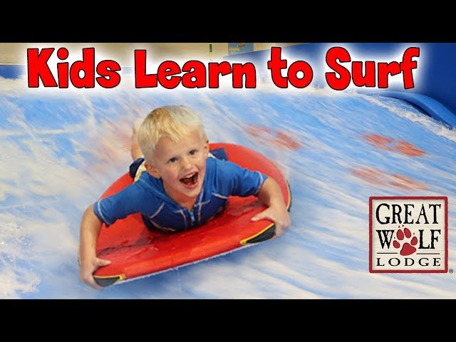 Michael's Surfing Wipeout - Family Fun Pack at Great Wolf Lodge