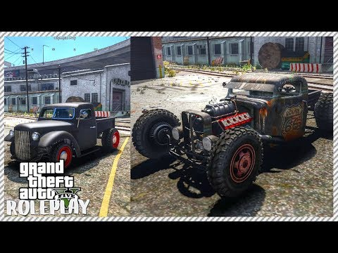 GTA 5 ROLEPLAY - Incredible Hot Rod Build | Ep. 89 Civ
