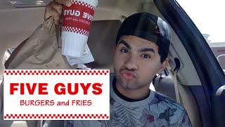 ME EATING FIVE GUYS MUKBANG - Video Youtube
