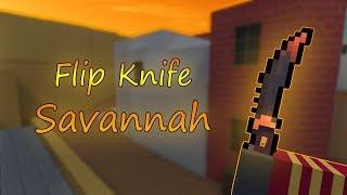 Flip Knife Savannah - Block Strike