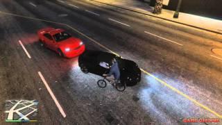 Clip vui GTA 5 - Xin lỗi anh chỉ là thằng chạy xe đạp :D