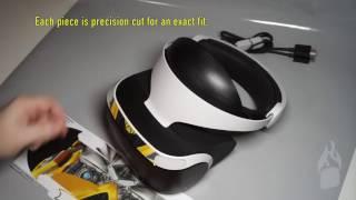 PlayStation VR PSVR Custom Decal Skin Installation