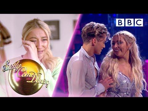 Emotional night for YouTuber Saffron Barker and her nan - Week 4   BBC Strictly 2019