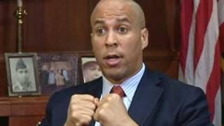 Newark Mayor Cory Booker