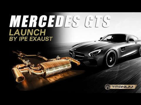 The iPE titanium exhaust for Mercedes-AMG GT S