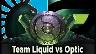 The international 2018 Live, Team Liquid vs Optic, Playoff Upper Bracket #ti8