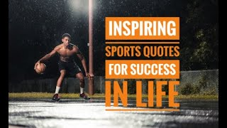 Best Sports Quotes For Success In Life | Sports Quotes | Motivation | Success | Passion and Work