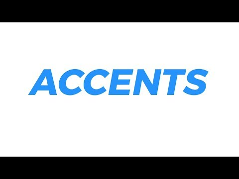 Accents - 2018