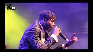 FIREBOY DML   PERFORMS JEALOUS | WHAT IF I SAY | SING WITH OXLADE AT AFROPROM 2019