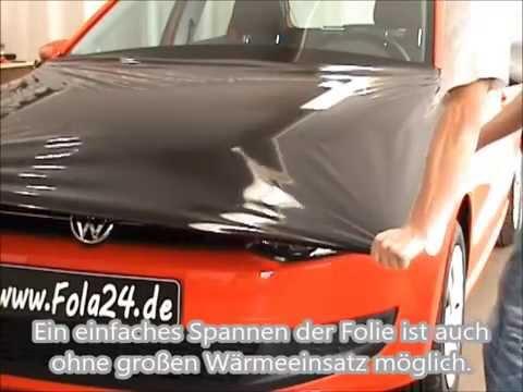 Motorhaubenbeklebung mit Avery® Supreme Wrapping - Beklebung - Car Wrapping - Folie statt Lack