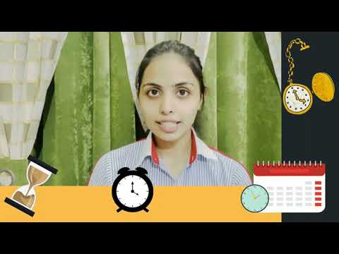 Virtual Morning Assembly of Grade X and XI on Time management and discipline