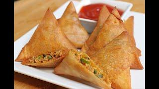 Easy Chicken Samosa Recipe – Iftar Recipe