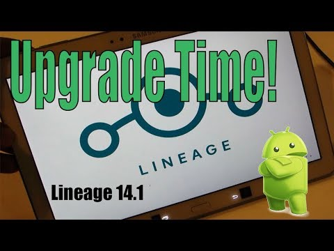 Galaxy Tab Pro 10.1 Upgrade to LineageOS 14.1 Nougat Root Custom Rom (UpDated)